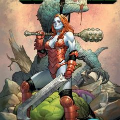 The Totally Awesome Hulk #2 cover by Frank Cho and Sonia Oback (Photo Credit: Marvel)