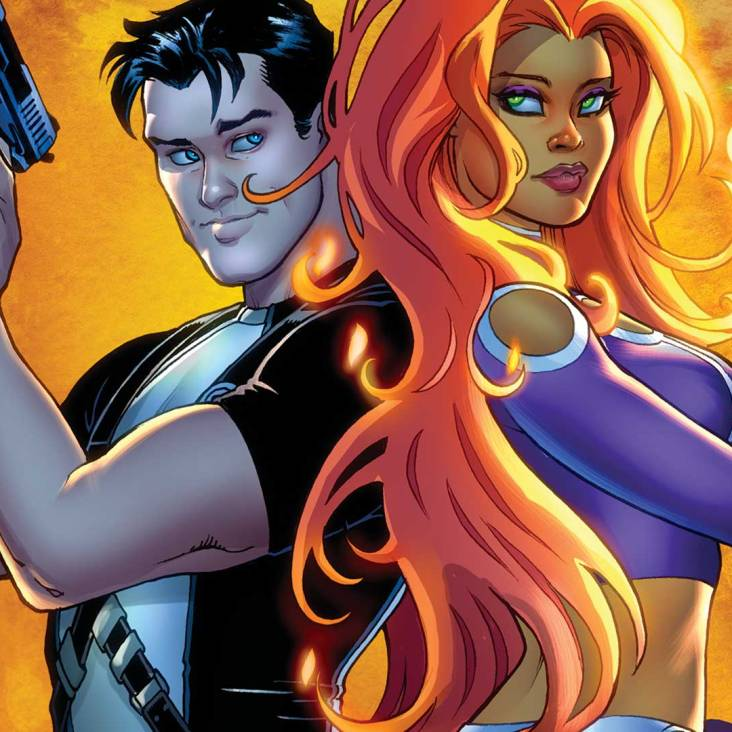 Starfire #7 cover by Amanda Conner (Photo Credit: DC Comics)