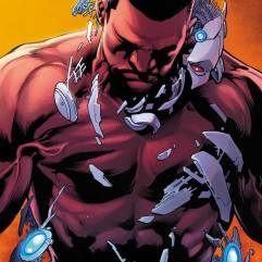Cyborg #6 cover by Joe Prado and Ivan Reis (Photo Credit: DC Comics)