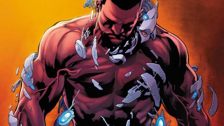 Cyborg #6 cover by Joe Prado and Ivan Reis (Photo Credit: DC Comics)