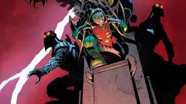 Robin: Son of Batman #7 cover by Mick Gray & Patrick Gleason (Photo Credit: DC)