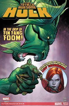Main Cover by Frank Cho and Sonia Obak (Photo Credit: Marvel)