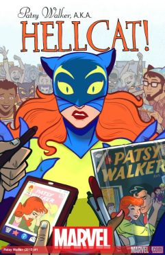 Patsy Walker, AKA Hellcat! #1 Main Cover by Brittney L. Williams (Photo Credit: Marvel)