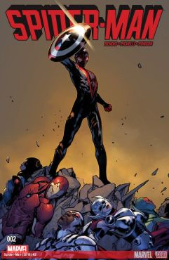 Cover by Sara Pichelli and Justin Ponsor (Photo Credit: Marvel Comics)