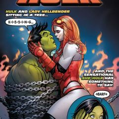 Cover by Frank Cho and Sonia Oback (Photo Credit: Marvel Comics)