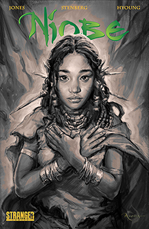 Cover by Ashley A. Woods & Hyoung Taek Nam (Photo Credit: Stranger Comics)