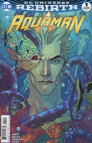 Aquaman #1 (Vol 6) Variant Cover B by Joshua Midleton (Photo Credit: Midtown Comics)