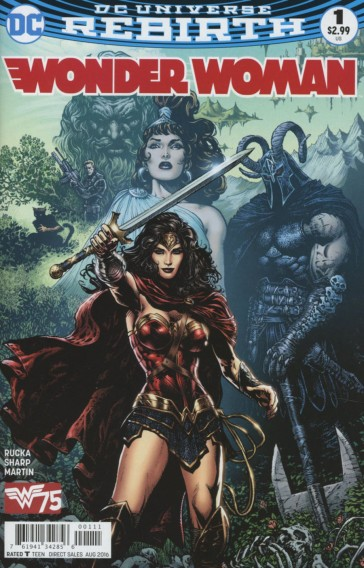 Wonder Woman (Vol 5) #1 Cover A by Liam Sharp (Photo Credit: Midtown Comics)