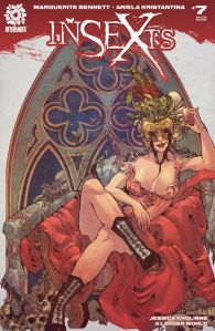 Cover by Ariel Kristantina (Photo Credit: Comixology)