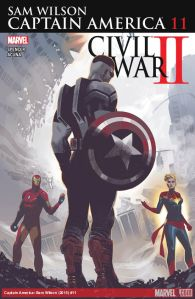 Cover by Daniel Acuna (Photo Credit: Marvel)
