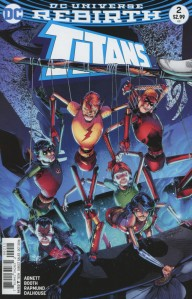 Cover by Brett Booth, Norm Rapmund, and Andrew Dalhouse (Photo Credit: Midtown Comics)